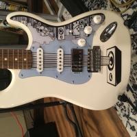 Mark DeRose Music branded Stratocaster